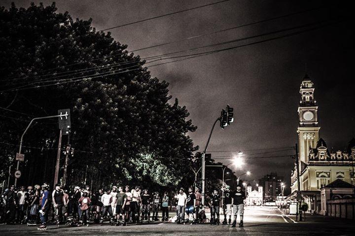 Encontro de Natal dos Patinadores de São Paulo