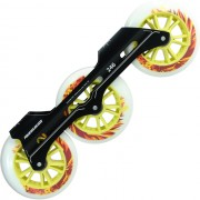 Kit Base Powerslide Pleasure Toll + Rodas UC Lion + SG 7 (3 x 110mm)