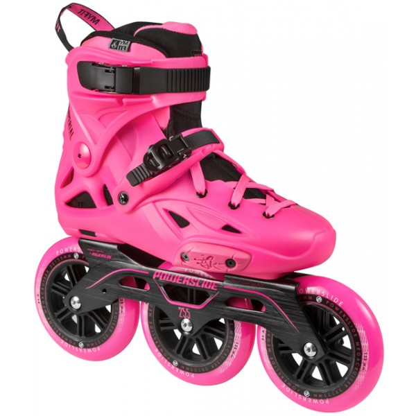 Patins Powerslide Imperial Megacruiser Pink (35 ao 40)