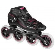 Patins Powerslide X Black & Pink 100 (37)