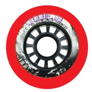 Roda Powerslide Hurricane Vermelha - 80mm/ 85A