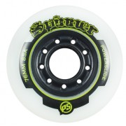 Roda Powerslide Spinner Branca - 80mm/ 85A