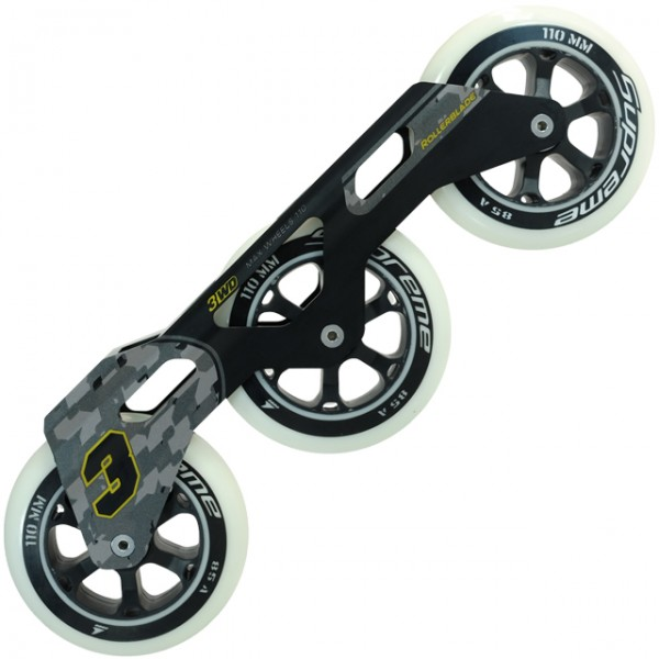 Kit Base Rollerblade 3WD + Rodas Supreme + SG 7 (3 x 110mm)
