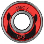 Rolamentos Wicked Abec 7 Free Spin - 12 unidades