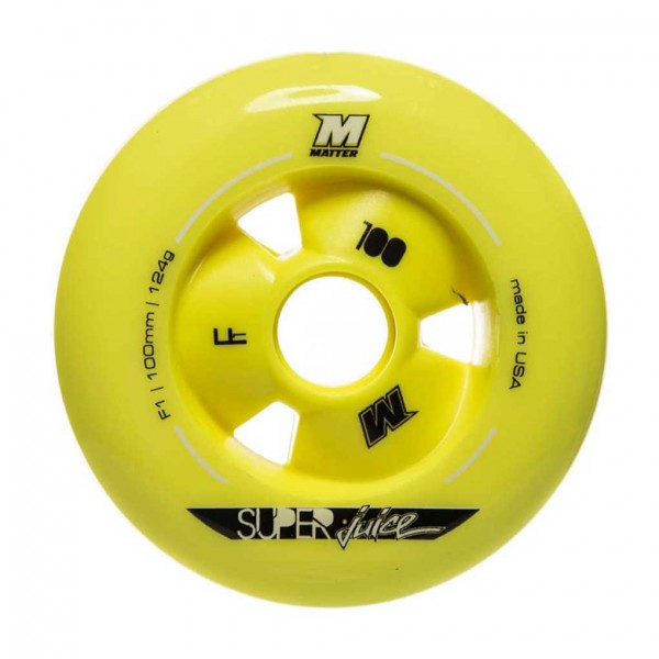 Roda Matter Super Juice 100mm, 87A (8 unidades)